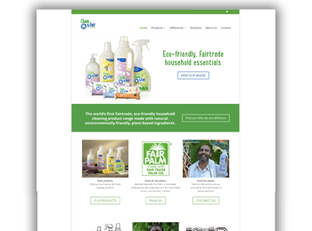 Fair Trade Website Design