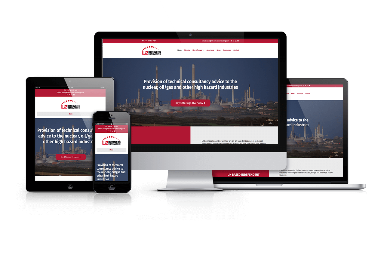 Web Design Nuclear Sector