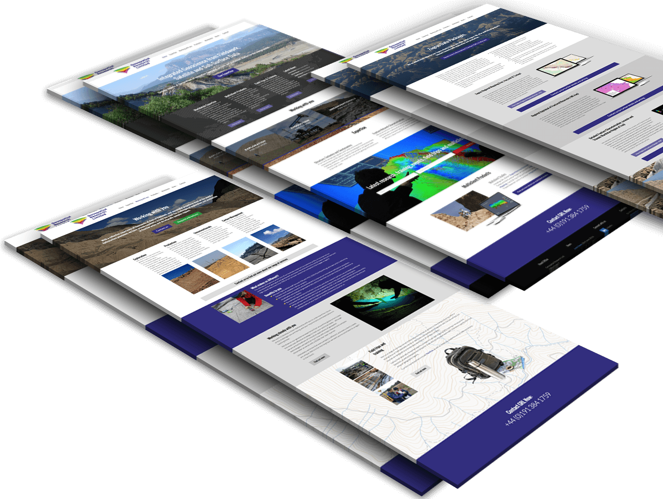Web Design for Geo Science
