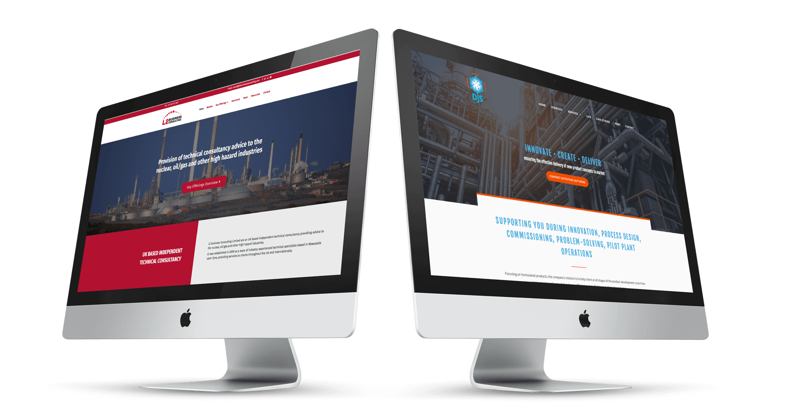 Oil and Energy Web Design